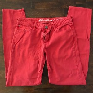 Eddie Bauer Slim Straight Pants - Slightly Curvy